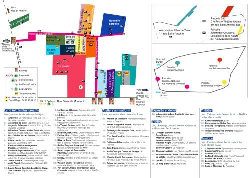 Le programme verso festival MAP 2013