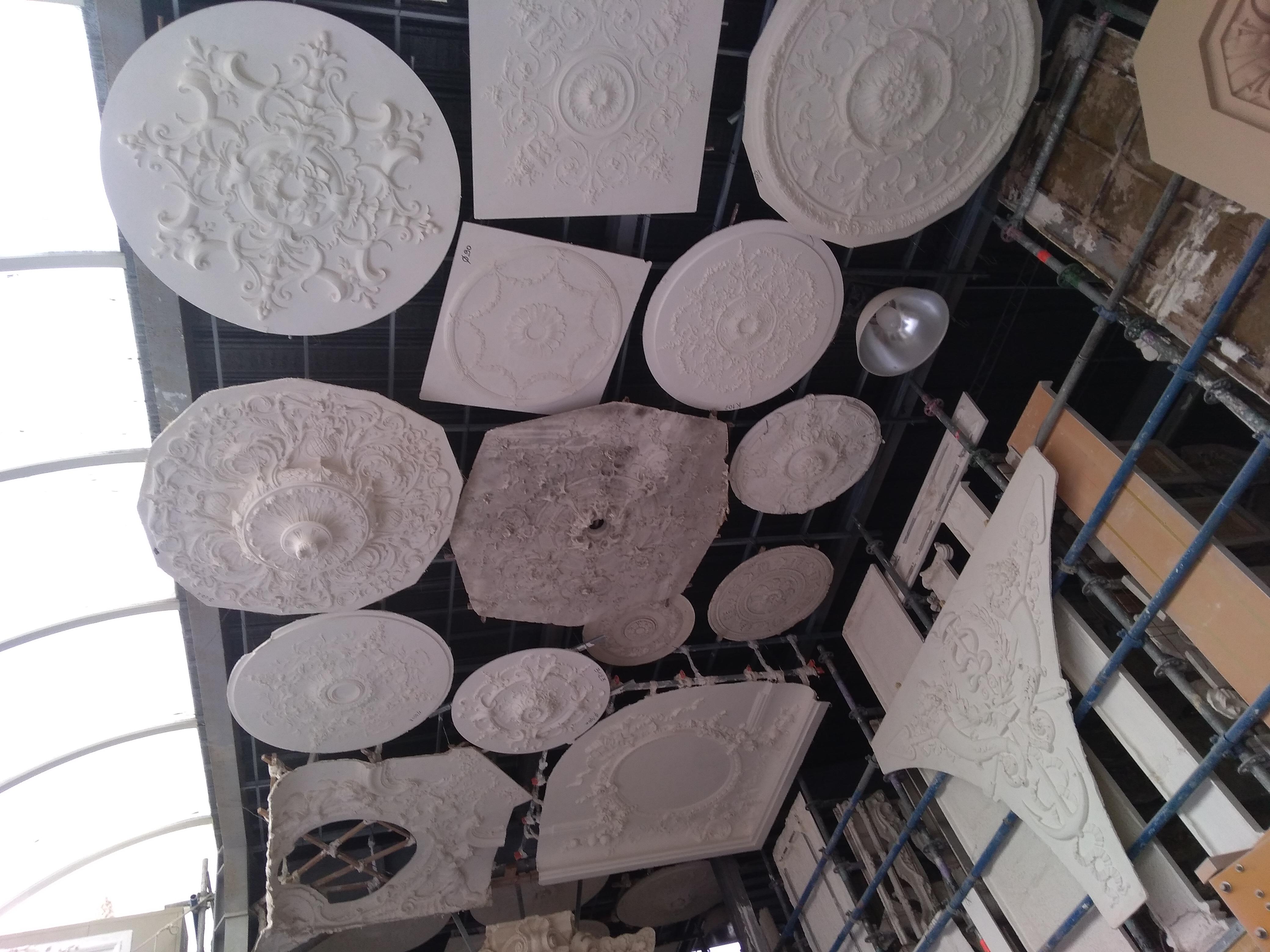 staff decoration plafond